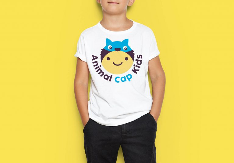 Animal Cap Kids Branding