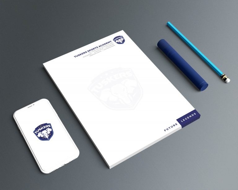 Tuskers Sports Academy Branding